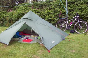 My tent in Peel
