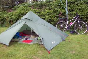 My tent in Peel