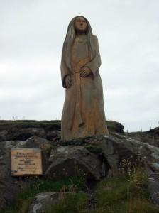Statue on Peel Hill