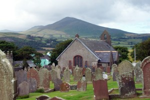 North Barrule and Maughold Church