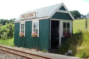 Ballajora Station on way to Laxey