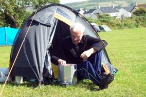 Andy's tent Peel