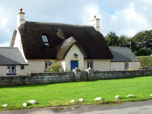 Thatched cottage Marloes