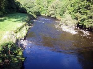 Downstrean of the Afon Tywi