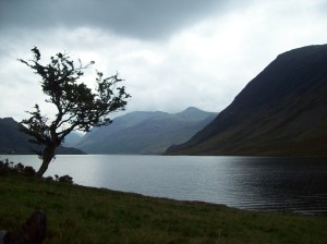 Light failing on Crummock Water