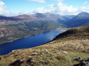 Looking down to Ennerdale Water