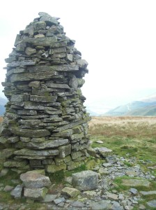 Cairn on Broom Fell