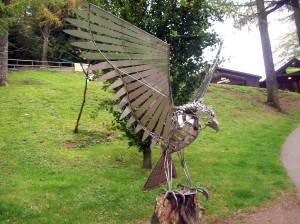 Sculpture at Whinlatter Centre